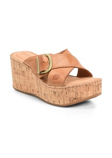 Born Børn Devona Platform Wedge Sandal (Women)