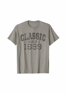 Classic since 1999 Vintage Style Born in 1999 Birthday Gift T-Shirt
