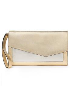Women's Botkier Cobble Hill Leather Wallet - Yellow