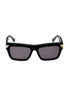 Bottega Veneta 56MM Square Plastic Sunglasses