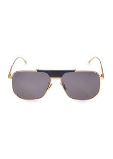 Bottega Veneta 60MM Square Sunglasses