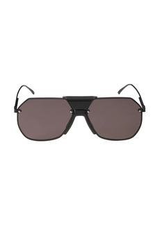 Bottega Veneta 62MM Aviator Sunglasses