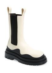 Bottega Veneta BV Tire Clear Sole Chelsea Boot (Women)
