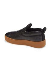 Bottega Veneta Embossed Slip-On Platform Sneaker (Women)