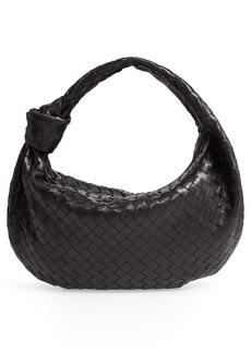 Bottega Veneta BV Jodie Leather Hobo Bag