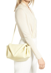 Bottega Veneta Medium Beak Triangle Flap Leather Shoulder Bag