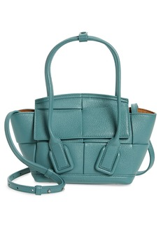 Bottega Veneta Mini Arco Leather Top Handle Bag
