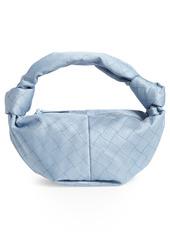 Bottega Veneta Mini Double Knot Jacquard Hobo Bag