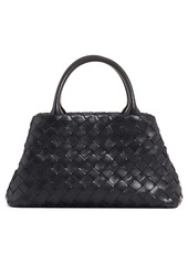 Bottega Veneta Mini Intrecciato Leather Double Handle Tote Bag