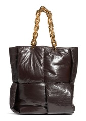 Bottega Veneta Padded Intrecciato Leather Tote