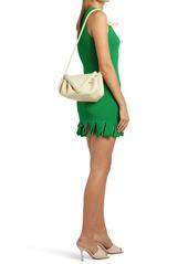 Bottega Veneta Small Beak Triangle Flap Leather Shoulder Bag