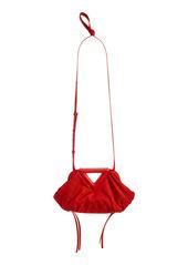 Bottega Veneta Small Triangle Jacquard Pouch