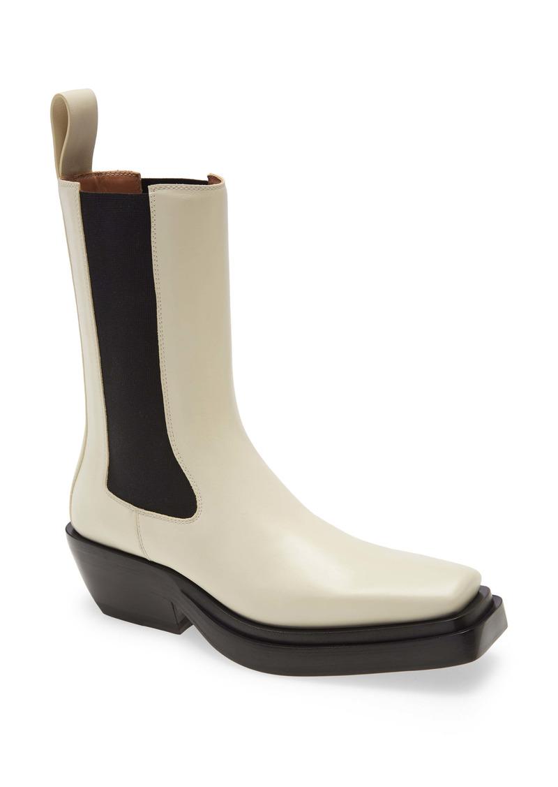 Bottega Veneta Square Toe Chelsea Boot (Women)