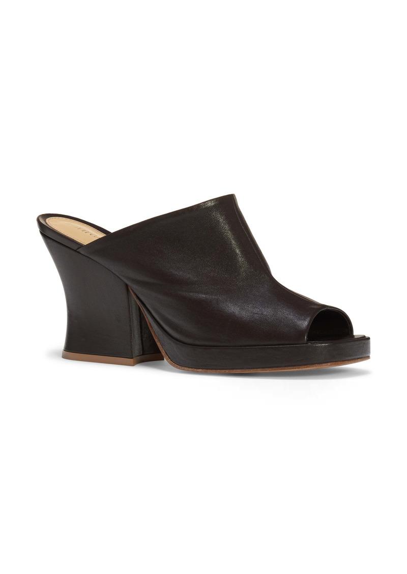 Bottega Veneta Stretch Nappa Platform Slide Sandal (Women)