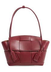 Bottega Veneta The Arco 48 Intrecciato Leather Top Handle Bag
