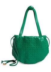 Bottega Veneta The Mini Bulb Intrecciato Leather Bucket Bag