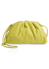 Bottega Veneta The Mini Pouch Leather Clutch