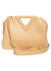 Bottega Veneta The Triangle Calfskin Leather Shoulder Bag