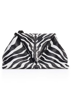 Bottega Veneta Zebra Print Leather Envelope Clutch