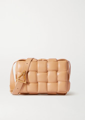 Bottega Veneta Cassette Padded Intrecciato Leather Shoulder Bag