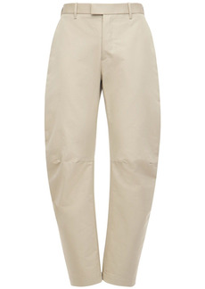 Bottega Veneta Compact Cotton Faille Pants