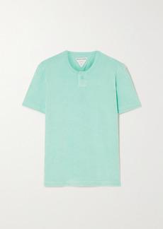 Bottega Veneta Cotton-blend Terry T-shirt