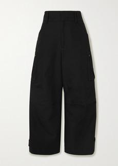 Bottega Veneta Cotton-canvas Wide-leg Pants