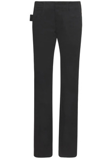 Bottega Veneta Cotton Denim Jeans W/satin Bands