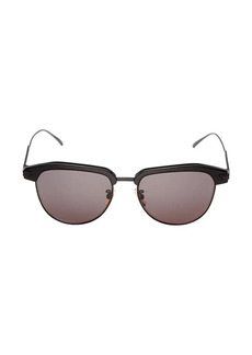 Bottega Veneta DNA 54MM Round Panthos Sunglasses