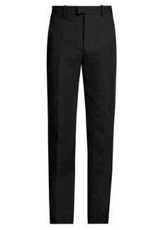 Bottega Veneta Double Cotton Canvas Trousers