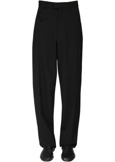 Bottega Veneta Fluid Wool Gabardine Pants