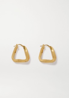 Bottega Veneta Gold-tone Hoop Earrings