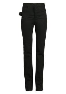Bottega Veneta High-Rise Tuxedo Stripe Jeans