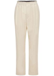 Bottega Veneta Knotted Cotton Twill Pants