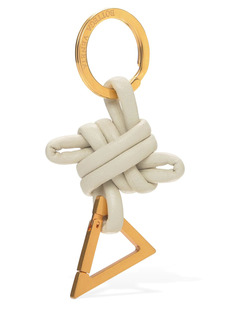 Bottega Veneta Knotted Leather Key Ring