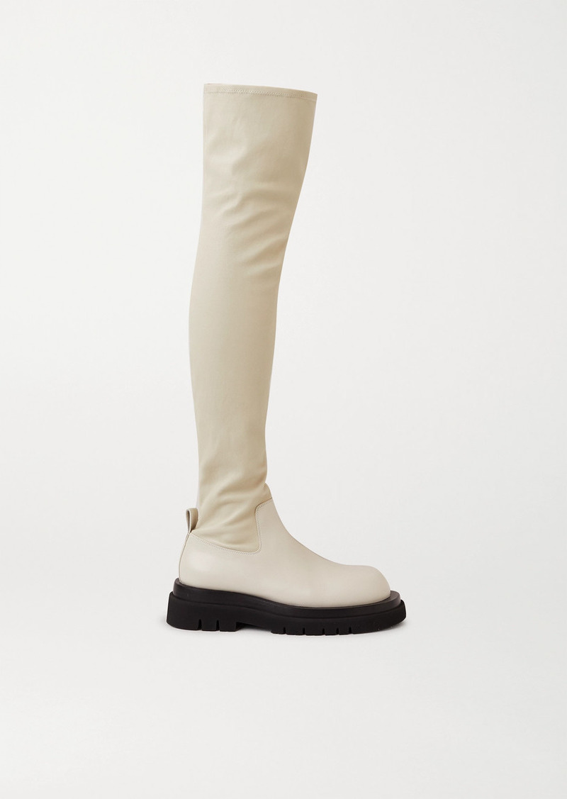 Bottega Veneta Leather Over-the-knee Boots