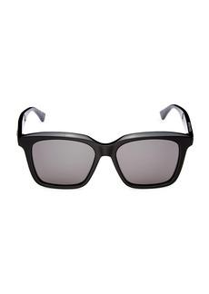 Bottega Veneta Minimalist 54MM Rectangular Sunglasses