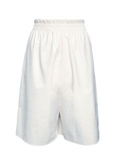 Bottega Veneta Patent Leather Bermuda Shorts