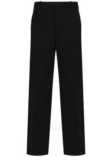 Bottega Veneta Stretch Nylon Canvas Wide Leg Pants