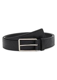 Bottega Veneta Textured Leather Belt