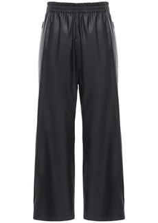 Bottega Veneta Waterproof Matte Leather Pants