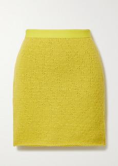 Bottega Veneta Wool And Cashmere-blend Mini Skirt