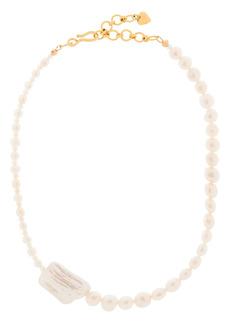 Brinker & Eliza baroque pearl necklace