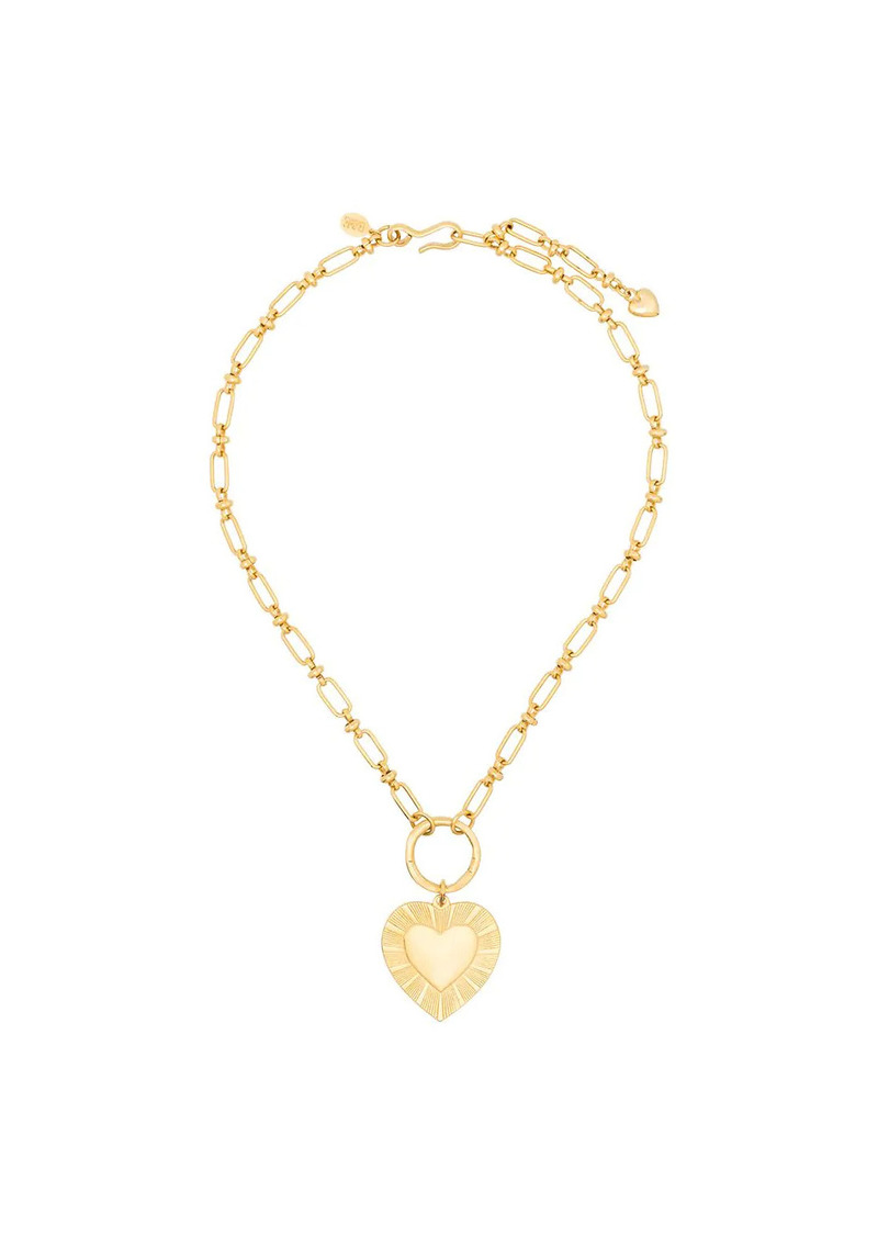 Brinker & Eliza Best Yet To Come heart pendant necklace