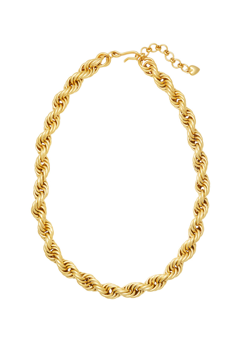 Brinker & Eliza - Women's Gold-Tone Spiral Staircase Necklace - Gold - Moda Operandi - Gifts For Her