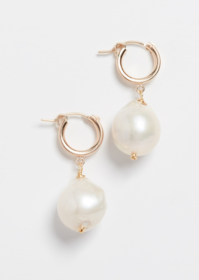 Brinker & Eliza Back To Basics Huggie Earrings