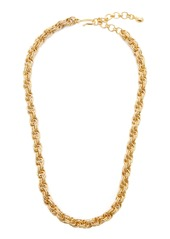 Brinker & Eliza Chain Reaction 24K Gold-Plated Necklace