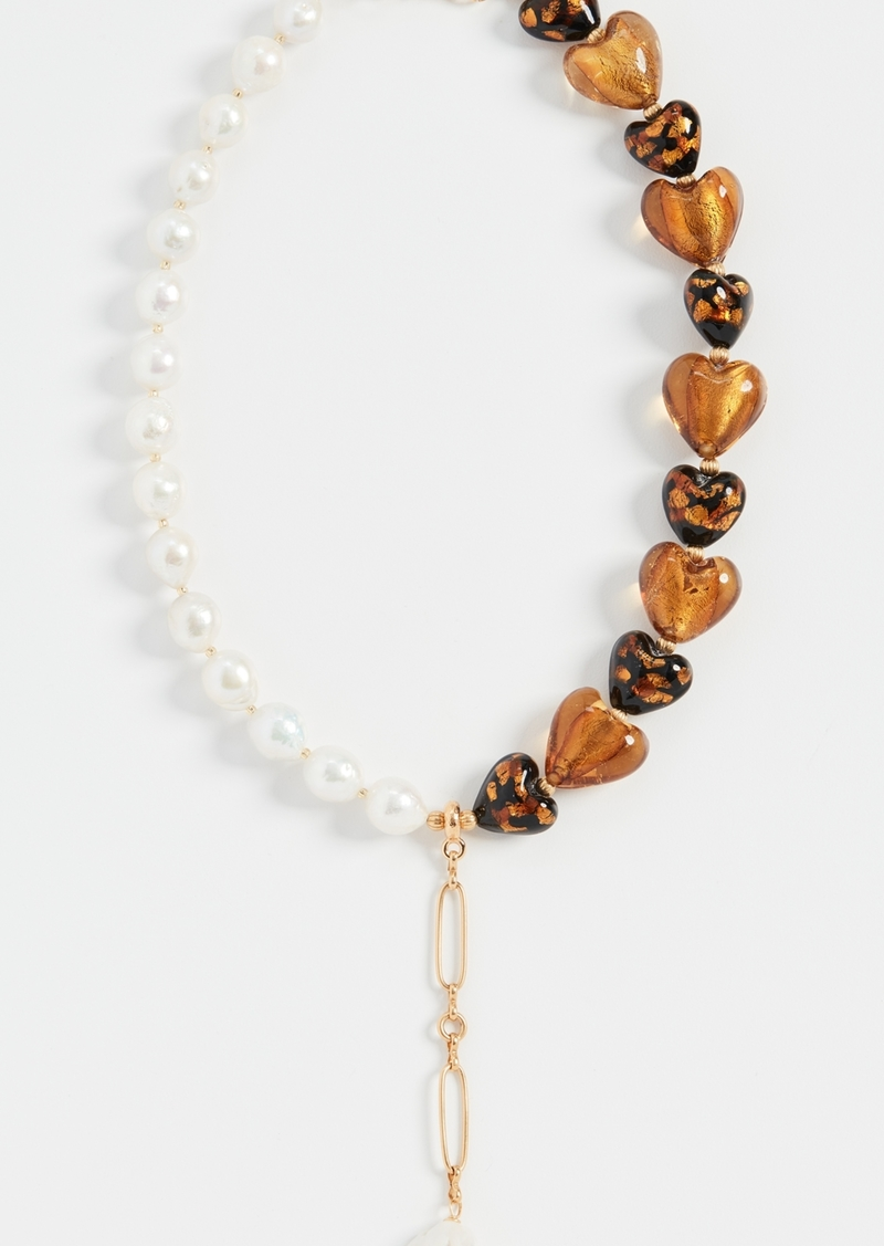 Brinker & Eliza Chianti Y-Necklace