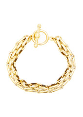 Brinker & Eliza End Game 24K Gold-Plated Chain Bracelet
