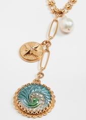 Brinker & Eliza Making Waves Y Necklace